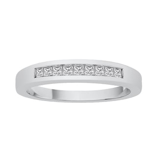 Sterling Silver 1/4ct TDW Diamond Wedding Band (K-L, I2-I3)