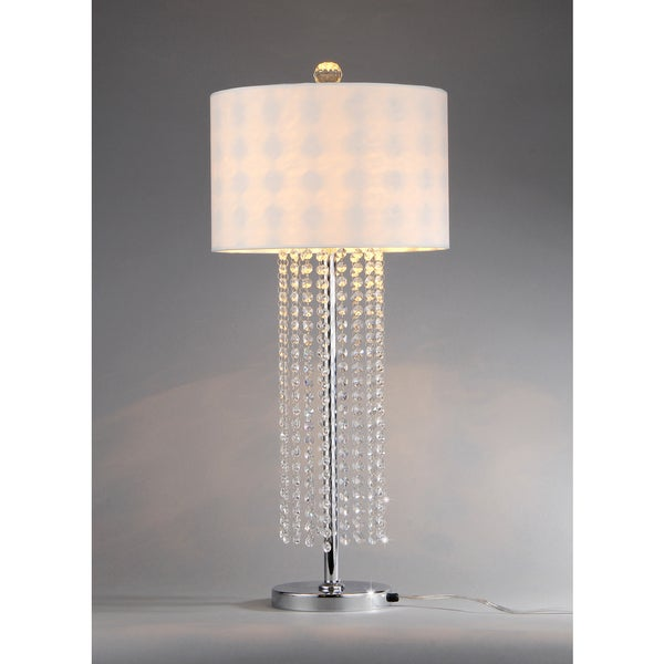 Lottie 1-light Crystal Table Lamp