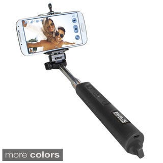 Selfie Shoot 'n Share Extendable Monopod with Wireless Bluetooth Remote Control
