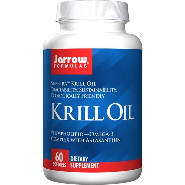 Jarrow Formulas Krill Oil Supplement (60 Softgels)