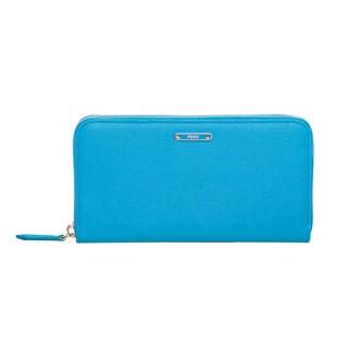Fendi Crayons Leather Zip-around Wallet