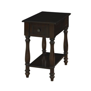 Powell Cherry Accent Table