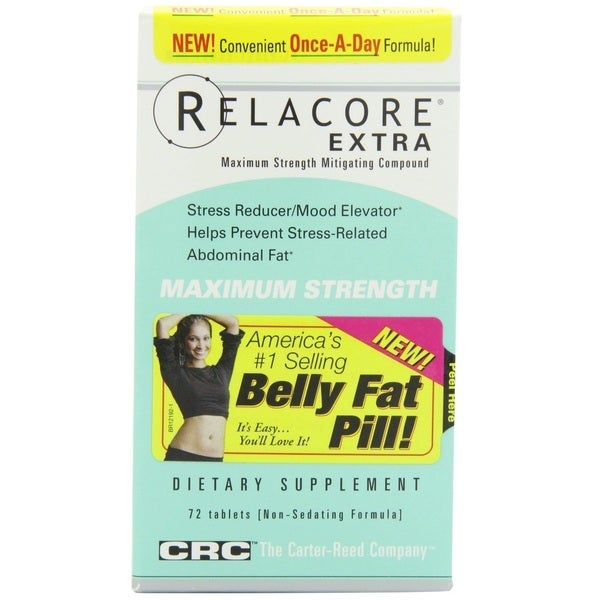 Carter Reed Relacore Extra (72 Tablets)