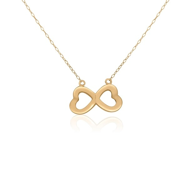 14KT Yellow Gold Butterfly Design Pendant Necklace