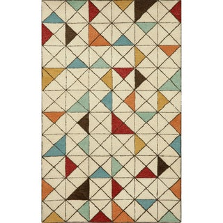 Geometric Indoor Rug (5'X8')
