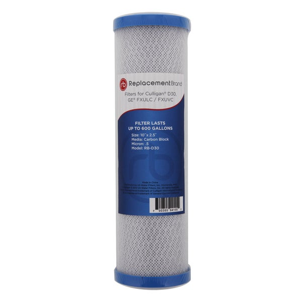 GE FXULC Comparable Whole House Carbon Block Filter 15066367