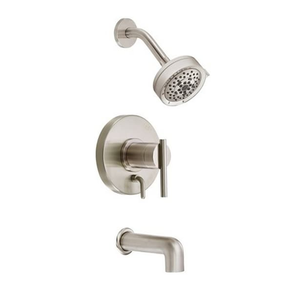 Danze Parma Brushed Nickel Tub And Shower Faucet 17139081 S