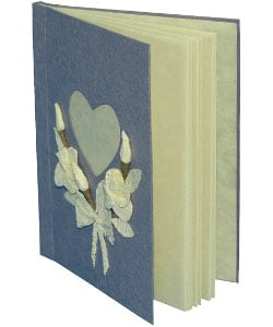 Hearts and Flowers Lotka Paper Diary