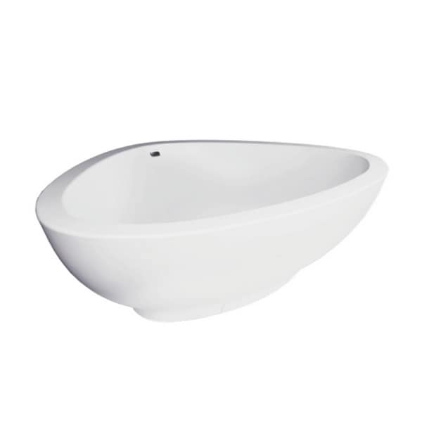 Axor Massaud Chrome Freestanding Tub