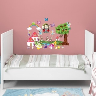 Fairy Friends Wall Play Set