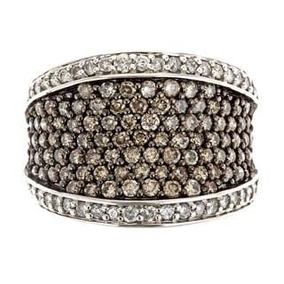 Sterling Silver 2ct TDW Diamond Ring