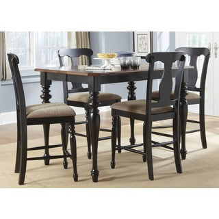Abbey Court Black and Cherry 54x54 Napolean 5pc Gathering Set