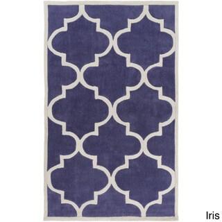 Artfully Crafted Mya Geometric Polyester Area Rug-(2' x 3')