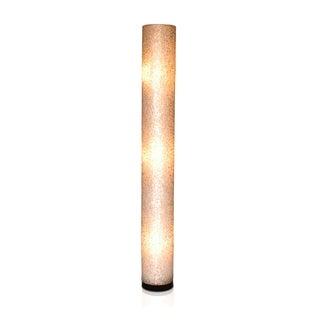 Dublin Modern Geometric Transitional Off-White Indoor Floor Lamp