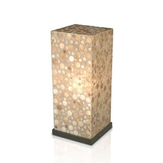 Dalhart Sleek Polished Transitional Beige Indoor Floor Lamp