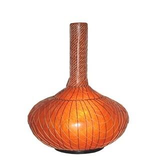 Alamo Modern Moroccan Transitional Brown Indoor Floor Lamp