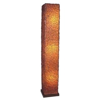 Hays Transitional Brown Indoor Floor Lamp