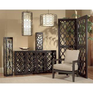 Bartlett Moroccan Modern Transitional Black Indoor Floor Lamp