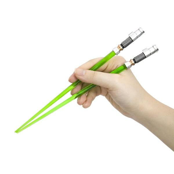 Star Wars Luke Skywalker Green Lightsaber Chopsticks