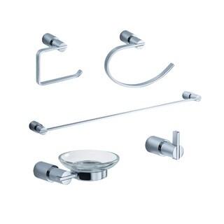 Fresca Magnifico 5-Piece Bathroom Accessory Set - Chrome
