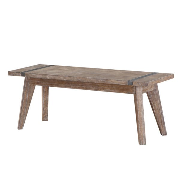 Viewpoint Washed Oak Rustic Bench