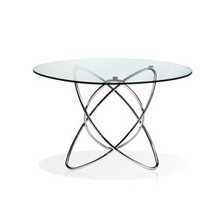 CAFE-4312 Round Glass Table