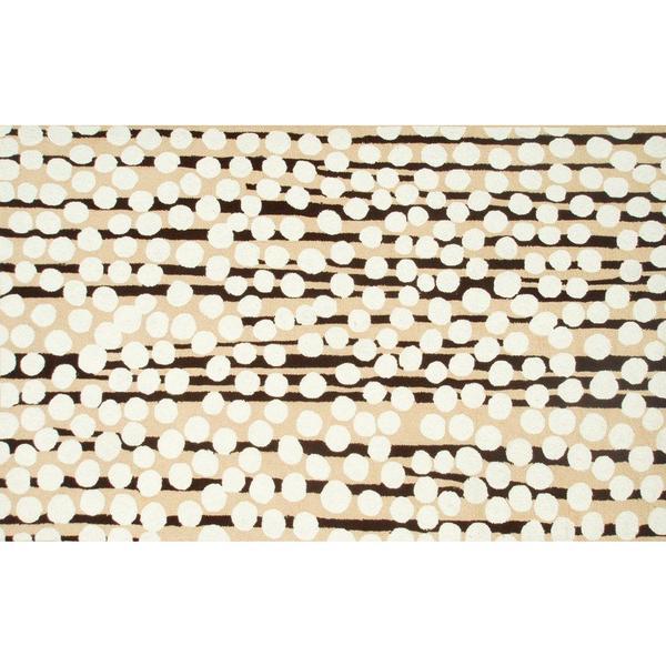 Scaley Bark Brown Area Rug (5' x 7'6)