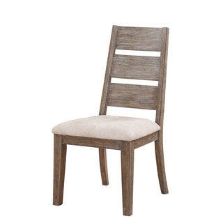 Viewpoint Washed Oak Rustic Side Chairs (Set of 2)