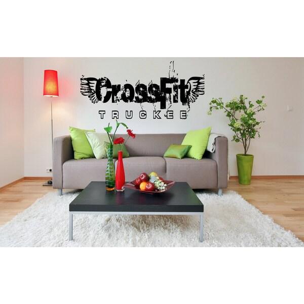 Crossfit Fitness Gym Vinyl Wall Art