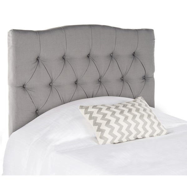 Safavieh Axel Arctic Grey Tufted Headboard (Twin)