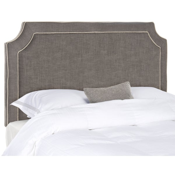 Safavieh Dane Charcoal/Light Grey Headboard (King)