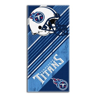 NFL 911 Titans Diagonal Beach Towel