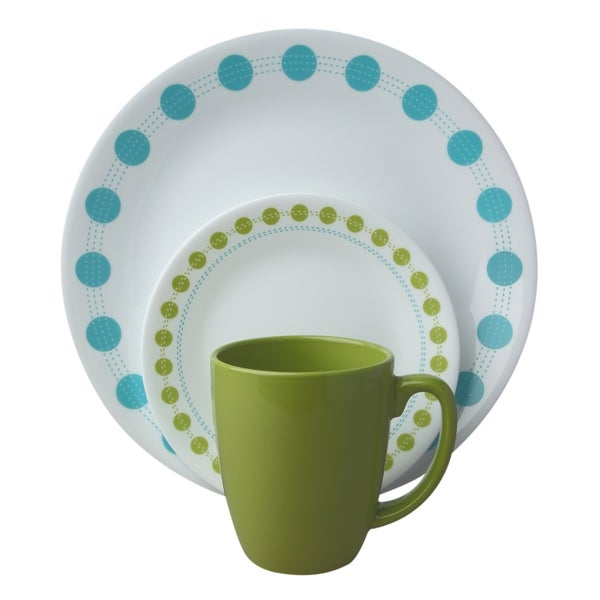 Corelle Livingware South Beach 16-piece Dinnerware Set 15068027