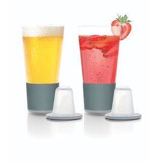 Soirée Home Chilling Pint Glasses 2-piece Set