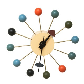 Mid-century Color Bubble Wall Clock