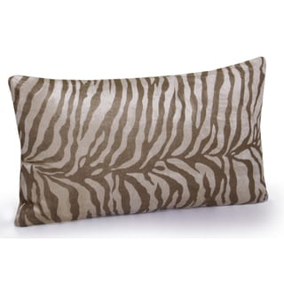 Jovi Home Zebra velvet Decorative Pillow