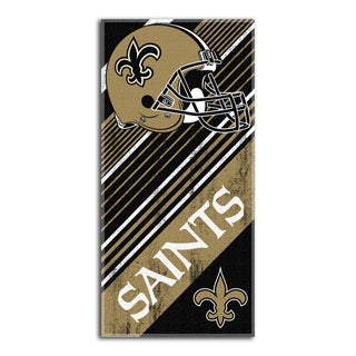 NFL 911 Saints Diagonal Beach Towel