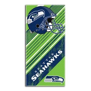 NFL 911 Seahawks Diagonal Beach Towel