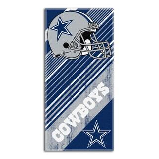 NFL 911 Cowboys Diagonal Beach Towel