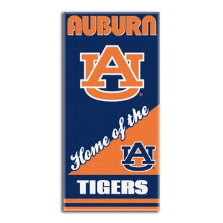 COL 911 Auburn Home Beach Towel