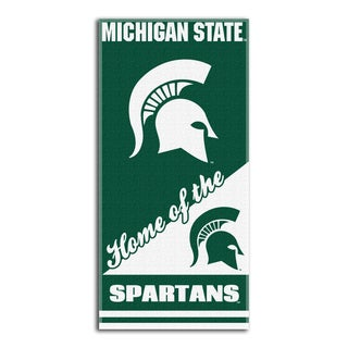 COL 911 Michigan State Home Beach Towel