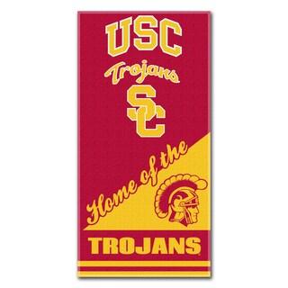 COL 911 USC Home Beach Towel