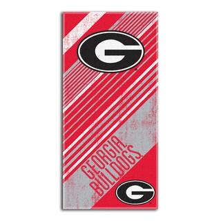 COL 911 Georgia Diagonal Beach Towel