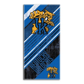 COL 911 Kentucky Diagonal Beach Towel