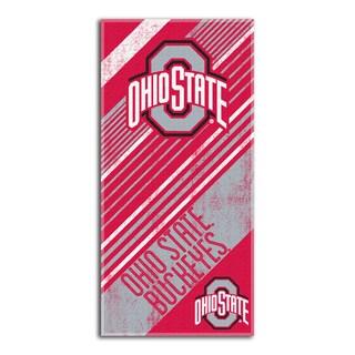 COL 911 Ohio State Diagonal Beach Towel
