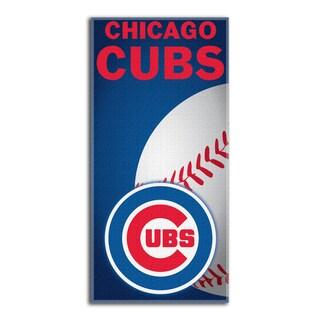 MLB 911 Cubs Emblem Beach Towel