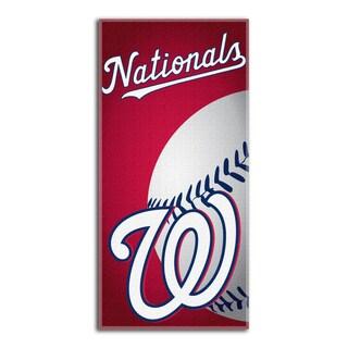MLB 911 Nationals Emblem Beach Towel