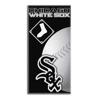 MLB 911 White Sox Emblem Beach Towel