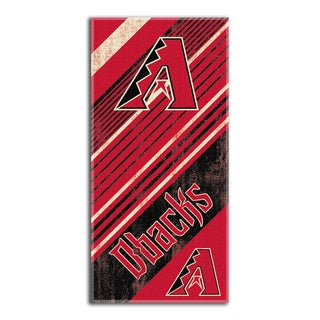 MLB 911 Diamondbacks Diagonal Beach Towel