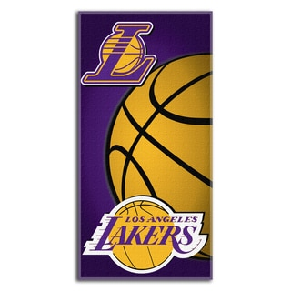 NBA 911 Lakers Emblem Beach Towel